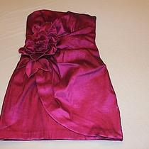 Womens Sexy Jessica Mcclintock Short Formal Dress Magenta Size 12 Photo
