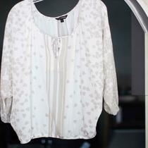 Womens Sheer Express Blouse Size S Photo