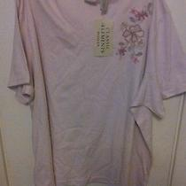 Womens Short Sleeve Shirt Size 24/26w Classic Elements Photo