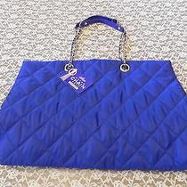 Womens Silk Elements Retro Chain Tote Nwt Photo