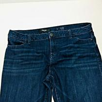 Womens Simply Vera Wang Capri Denim Jeans Size 16 Skinny Mid Rise  Photo