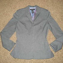 Womens Size 0/2 Xs Gray Blazer Jacket Sports Coat by the Limited Dress Suit Nice Photo