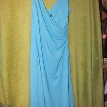 Womens Size 1/2 Blue Dress Express Photo