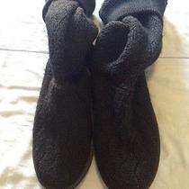 Womens Size 10 Black Ugg Australia 5807 Cable Knit Photo