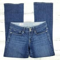 Womens Size 28 / 6a Stretch Gap 1969 Perfect Boot Blue Jeans  Photo