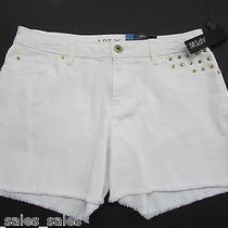 Womens Size 4 Jeans Shorts Rock & Republic White Modern Fit  Photo
