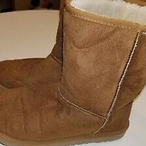 Womens Size 6 Ugg Brown Suede Boots Photo