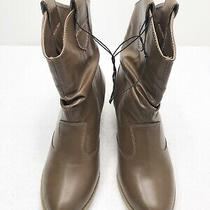 Womens Size 7 Charles Albert Brown Country Western Style Cowboy Boots  Photo
