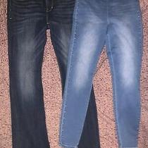 Womens Size 8 Lot Express Jeans and Jennifer Lopez Jegging Excellent Photo