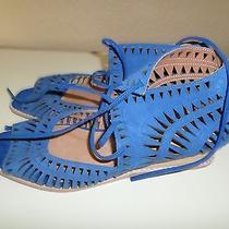 Womens Size 9m Jeffrey Campbell Ibiza Wedge Sandals Photo