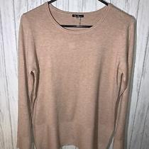 Womens Size M Vila Milano Sweater Blush Pink Euc Photo