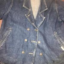 Womens Size Small Vintage Guess Jeans Denim Jacket Photo