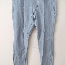 Womens Size Xl (16) Vera Wang Blue Pants Twill Stretch Leggings New 39 Photo