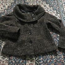 Womens Size Xlarge Brown Tween Shawl Collar a-Line Jacket Fully Lined Pockets Photo