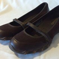 Womens Skechers Mary Janes Size 6.5 Us Never Worn Maroon Photo