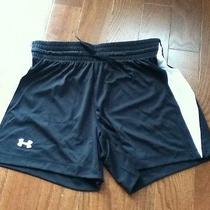 Womens Sm/p Under Armour Heat Gear Loose Shorts Nwt Photo