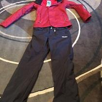 Womens Small Burton Dryride Snowboard Jacket & Volcom Paints  Photo