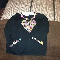 Womens Smitten Michael Simon Sweater Fancy Button Photo