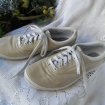 Womens  Sneakers Keds Beige & White Sixe 9m  Photo
