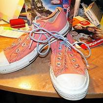 Womens Sneakers Womens Size 6 Converse All Stars Peach in Color  Photo