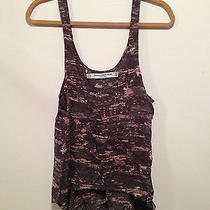 Womens Something Else by Natalie Wood Tank Gray Size 2 Xs Photo