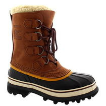 Womens Sorel Caribou Snow Waterproof Winter Fur Lined Mid Calf Rain Boot Us 5-10 Photo