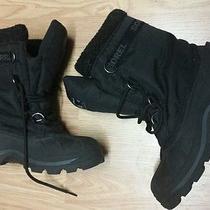 Womens Sorel Cumberland Size 8.5 Winter Boot Black Water Proof  Photo