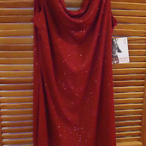 Womens Sparkling Red Dress New Photo