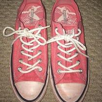 Womens Sparkly Pink Low Top Converse  Photo