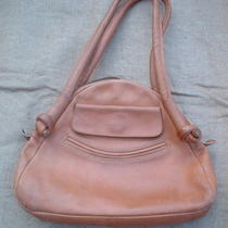 Womens Sturdy Leather Purse Handbag Signed Walter Dyer Hobo Shoulder Bag Vgc Nr Photo