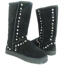 Womens Style & Co. Bolted Black Studded Winter Boot Sz 7m New With Box Photo