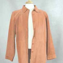 Womens Suede Bagatelle Gold Shirt Jacket Us Xl Photo