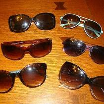 Womens Sunglass Lot Guess Juicy Couture 6 Pairs Plastic  Photo