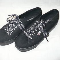 Womens - Superga -  Black Sneakers Photo