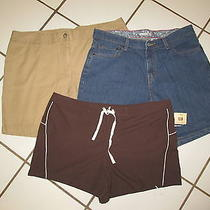 Womens Sz 8 Lot of 3 Levi's Lands End Faded Glory1 Nwt's Other Exc. Shape Photo