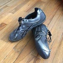 Womens Sz 9 Asics Gel Rhythmic S175n 8090 Dance Gunmetal Sneakers Shoes  Photo