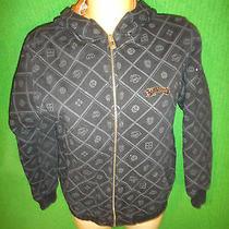 Womens Sz L Billabong Jacket Hoodie Thick Vintage Photo