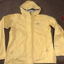 Womens the North Face Hyvent Dt Full Zip Hooded Jacket Small Yellow Photo