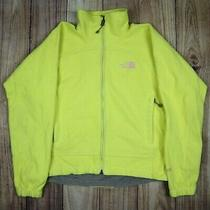 Womens the North Face Windwall Fleece Jacket Vintage Yellow Size Xs Photo