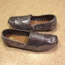 Womens Toms Sequin w8.5  Photo