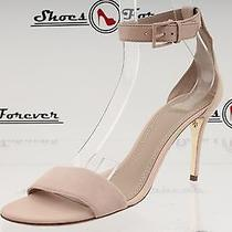 Womens Tory Burch Blush Pink Leather Ankle Strap Sandals Sz. 9.5 M New Photo