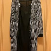 Womens Two Pieces Dress Set Michael Kors Black/white Size M Excellent Condition Photo