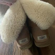 Womens Ugg Boots Bailey Button Size 8 Photo