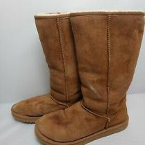 Womens Ugg Boots Classic Tall Chestnut Size 8 Photo