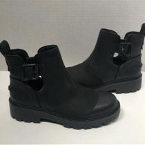 Womens Ugg Stockton Leather Motorcycle Ankle Boot 8.5 9 Photo