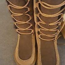 Womens Uptown Ugg Boots Size 6 Like New Photo