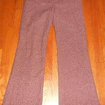 Womens Victorias Secret Body by Victoria Burgundy Tweed Christie Pants Ladies 4 Photo