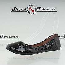 Womens Vince Camuto Black Patent Leather Ballet Flats Sz. 6 M New Photo