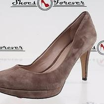 -Womens Vince Camuto Taupe Suede Pumps Shoes Sz. 6 B New Photo
