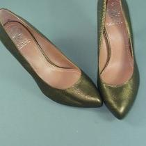 Womens Vince Camuto Vickiy 8 B Metallic Lizard Heels Photo